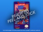 NES - Mega Man 3 Label