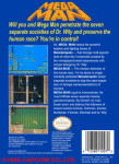 NES - Mega Man PAL-B (back)