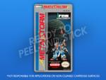 NES - Metal Storm Label