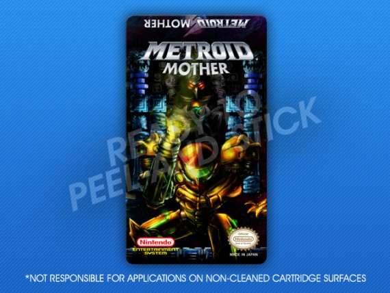 NES - Metroid Mother Label