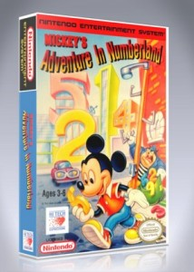 NES - Mickey's Adventure in Numberland
