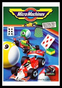 NES - Micro Machines Poster