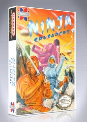 Ninja Crusaders Retro Game Cases