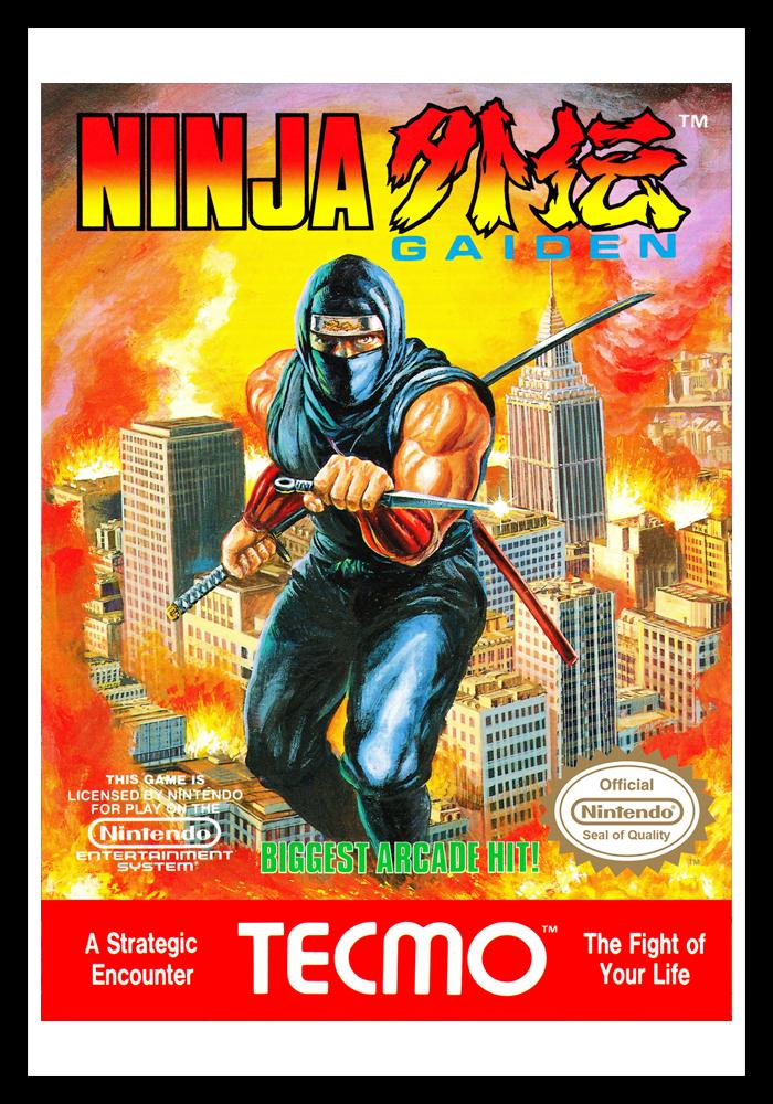 Nes Ninja Gaiden Retro Game Cases