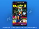 NES - Ninja Gaiden II Label