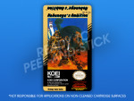 NES - Nobunaga's Ambition Label