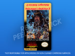 NES - Nobunaga's Ambition II Label