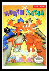 NES - North and South Poster
