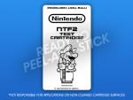NES - NTF2 Test Cartridge Label
