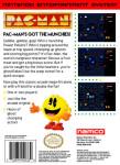 NES - Pac-Man (back)