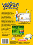 NES - Pokemon: Special Pikachu Edition (back)