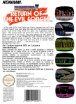 NES - Probotector II: Return of the Evil Forces (back)