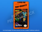 NES - Rad Gravity Label