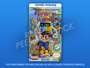 NES - Rainbow Islands Label
