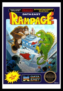 NES - Rampage Poster