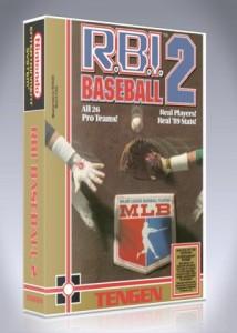 NES - RBI Baseball 2