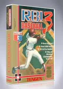 NES - RBI Baseball 3