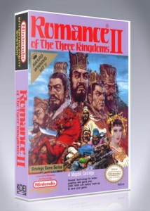 NES - Romance of the Three Kingdoms II