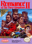 NES - Romance of the Three Kingdoms II (front)