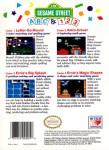 NES - Sesame Street ABC & 123 (back)