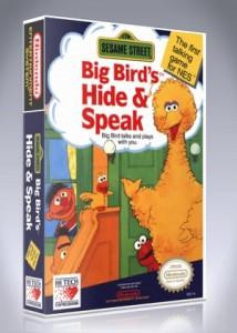 NES - Sesame Street: Big Bird's Hide & Speak