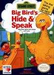 NES - Sesame Street: Big Bird's Hide & Speak (front)