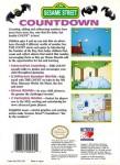 NES - Sesame Street Countdown (back)