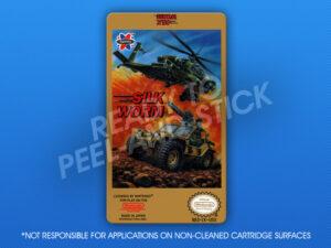 NES - Silkworm Label