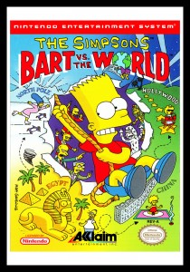 NES - Simpsons: Bart vs. the World