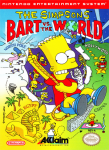 NES - Simpsons, The: Bart vs. The World (front)