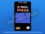 NES - Snail Maze Label
