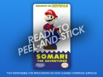 NES - Somari The Adventurer Label
