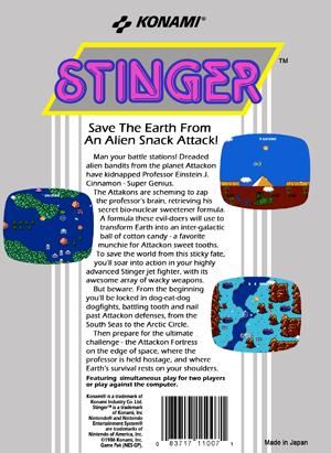 NES - Stinger (back)