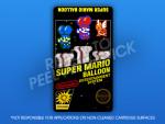NES - Super Mario Balloon Label