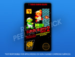 NES - Super Mario Bros. 2 Label