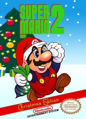NES - Super Mario Bros. 2 Christmas Edition Custom Game ...