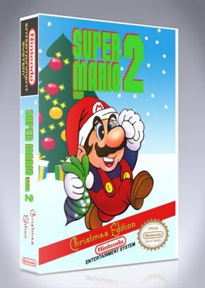 NES - Super Mario Bros. 2 Christmas Edition