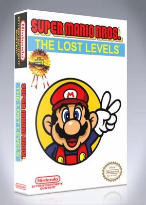 Super Mario Bros The Lost Levels Retro Game Cases