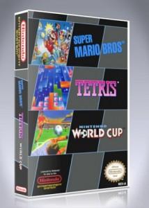 NES - Super Mario Bros. / Tetris / Nintendo World Cup