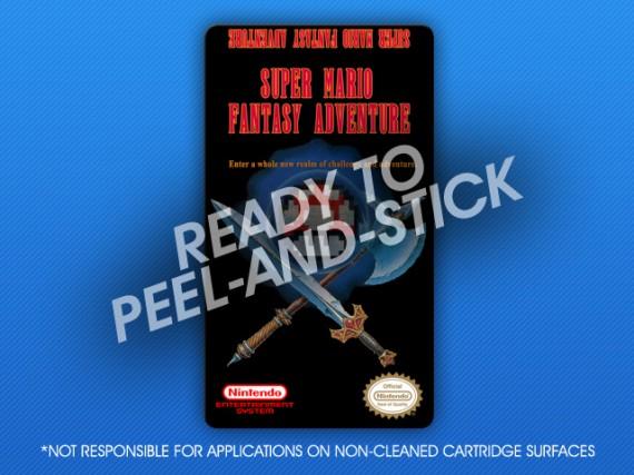 NES - Super Mario Fantasy Adventure Label