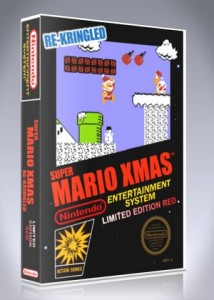 NES - Super Mario Xmas Re-Kringled Limited Edition Red