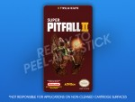 NES - Super Pitfall II Label