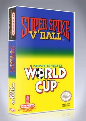 NES ? Super Spike V?Ball & Nintendo World Cup