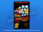 NES - Super Wario Bros. Label