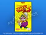 NES - Super Wario Bros. 3 Label