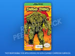 NES - Swamp Thing Label