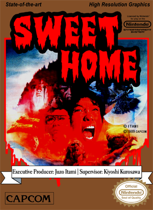 Sweet Home Nes Cover