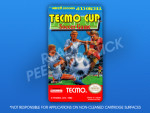 NES - Tecmo Cup Soccer Game Label