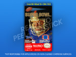 NES - Tecmo Super Bowl Label