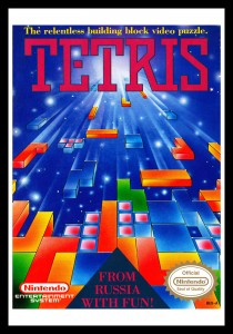 NES - Tetris Poster